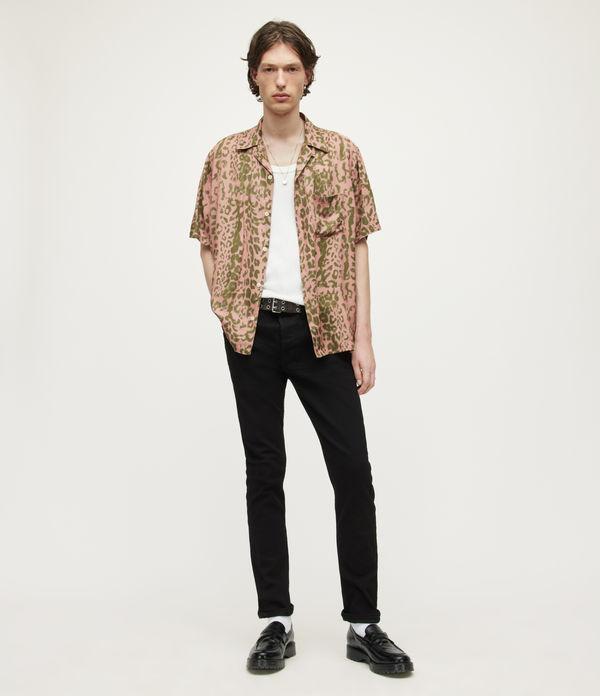 Cigarette Skinny Jeans, Jet Black