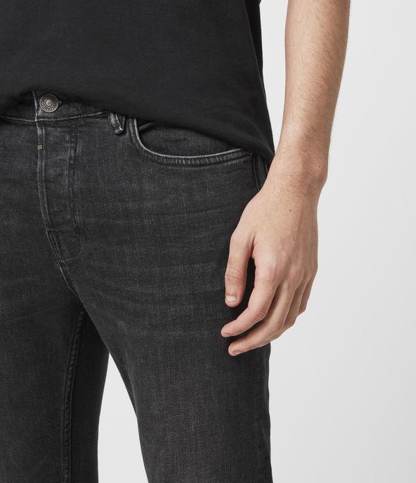 Cigarette Skinny Jeans, Black