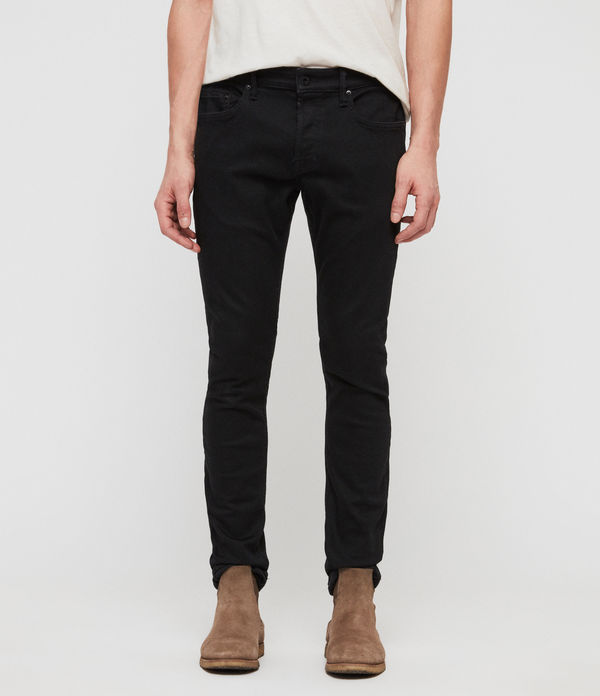 Cole Extra Skinny Jeans, Washed Black