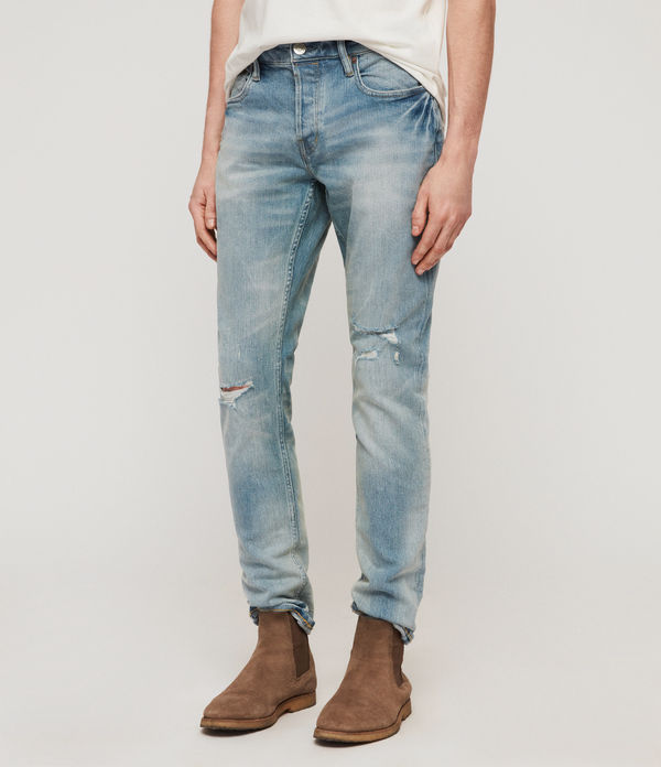 Rex Damaged Slim Jeans