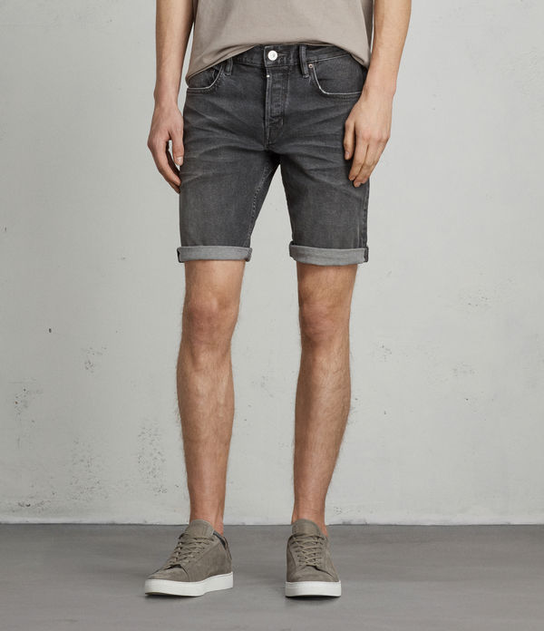 Genesee Switch Denim Shorts