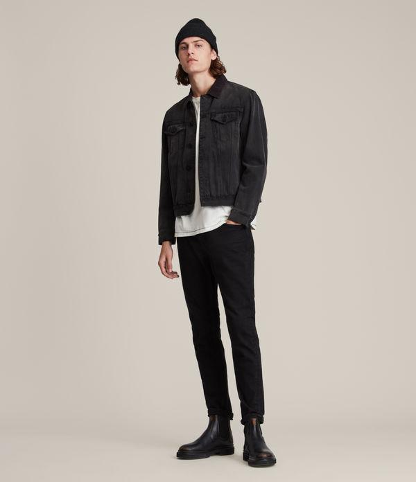 Rex Slim Jeans, Jet Black
