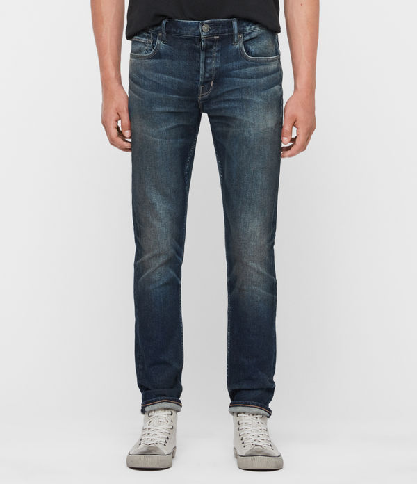 Rex Slim Jeans, Mid Indigo