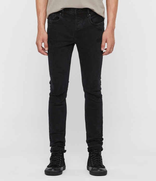 skinny jeans cigarette damaged, negro