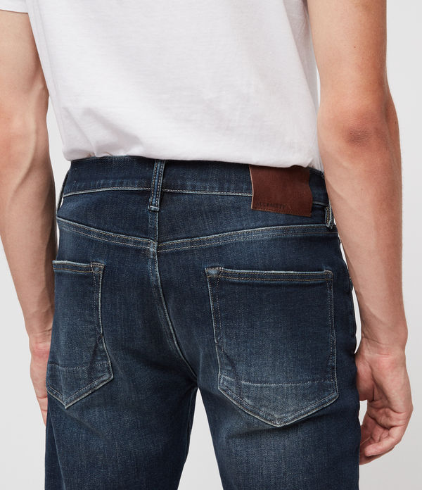 Reed Straight Slim Jeans