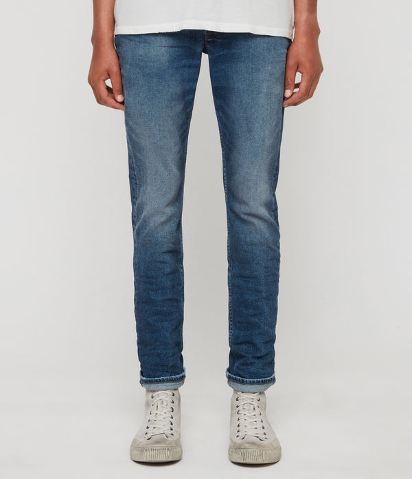 rex slim jeans, light indigo blue