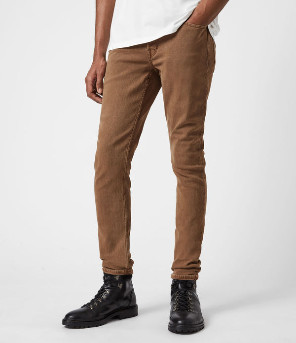 Rex Slim Jeans, Santo Brown