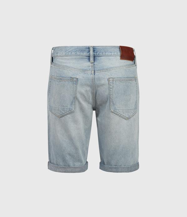 Switch Damaged Denim Shorts