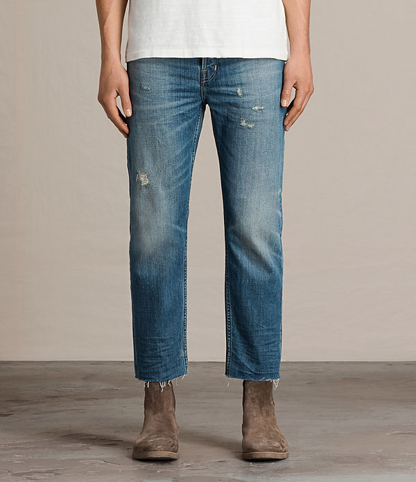 ildham sid straight cropped jeans