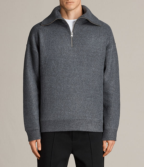Cortel Funnel Neck Jumper