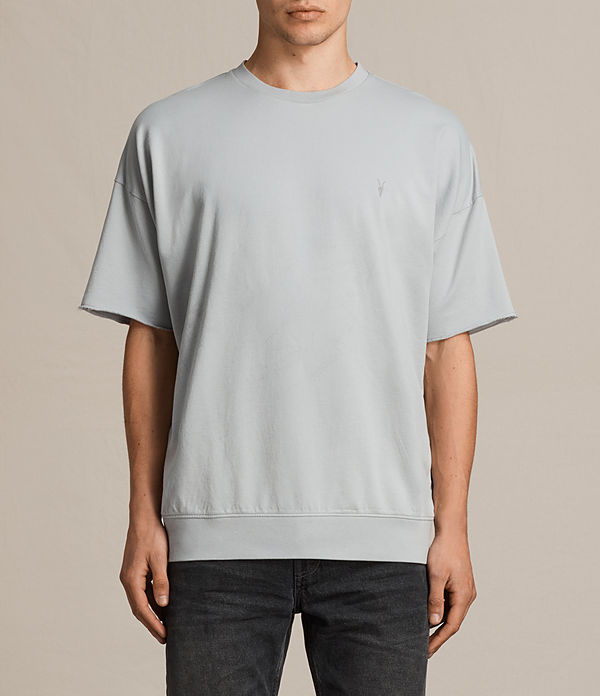 negotum short sleeve crew sweatshirt