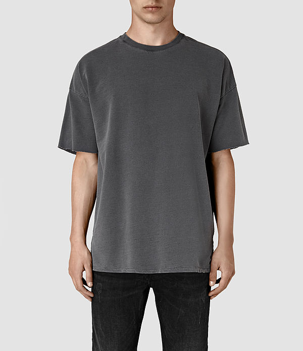ALLSAINTS US: Mens Paragon Short Sleeve Crew Sweatshirt (Washed ...