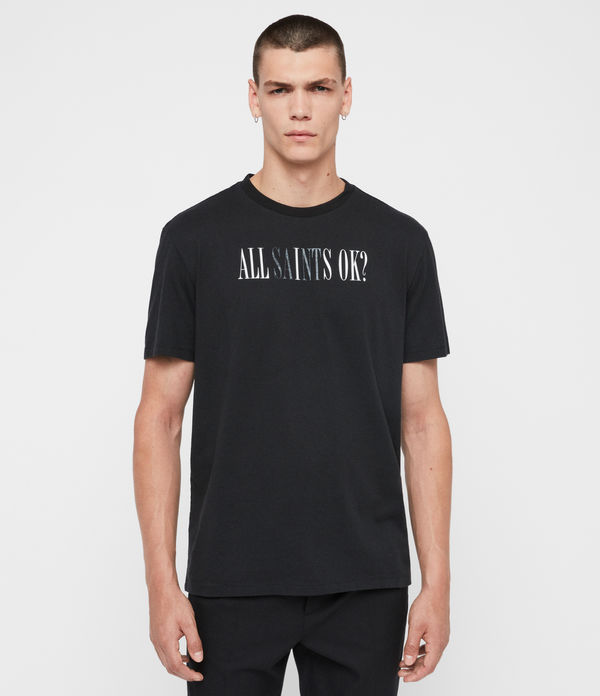 T-shirt Okay - In cotone con grafica AllSaints