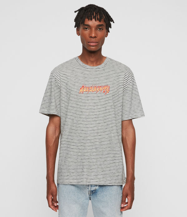 Burner Stripe Crew T-Shirt