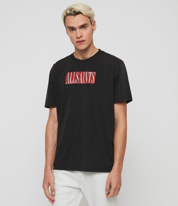 T-shirt Integers - In cotone con grafica AllSaints