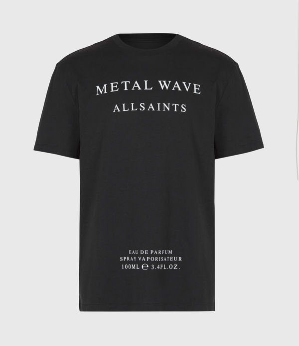 Metal Wave Crew T-Shirt