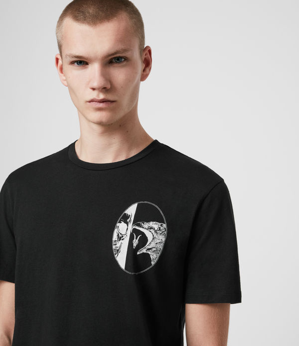 T-shirt Raptor Reap - In cotone con grafica