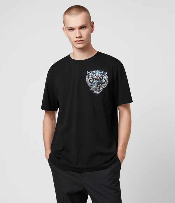 T-shirt Twin Tiger