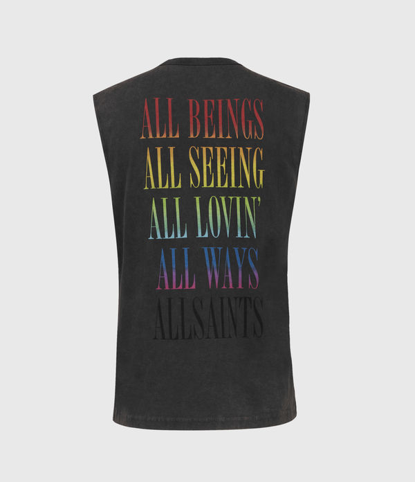 Proud Sleeveless Crew T-Shirt