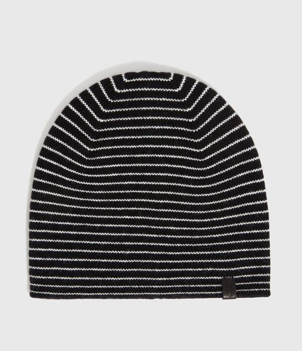 Reversible Stripe Cashmere Blend Beanie