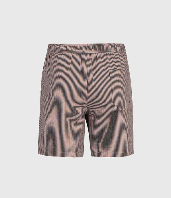 Seersucker Swim Shorts