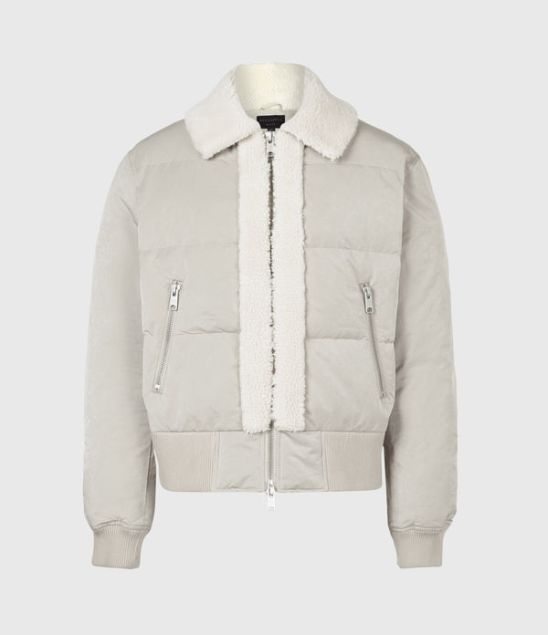 Gowers Sherpa-Lined Puffer Jacket