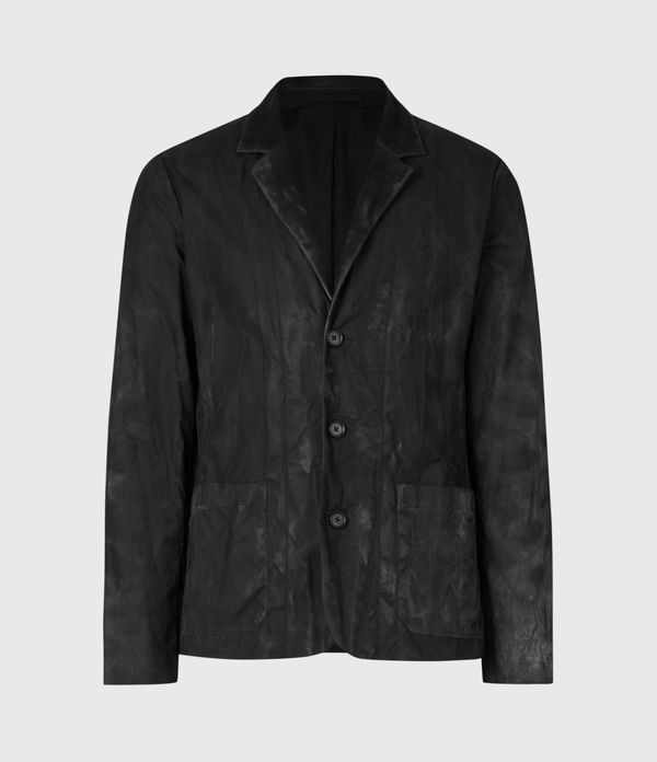 Barley British Waxed Cotton Blazer