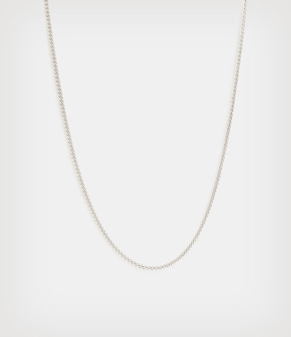 Curb Sterling Silver Chain