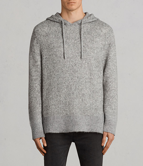 harnden knitted hoodie