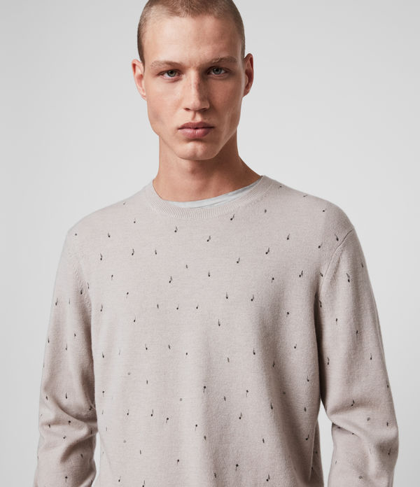 Notes Merino Wool Crew Jumper
