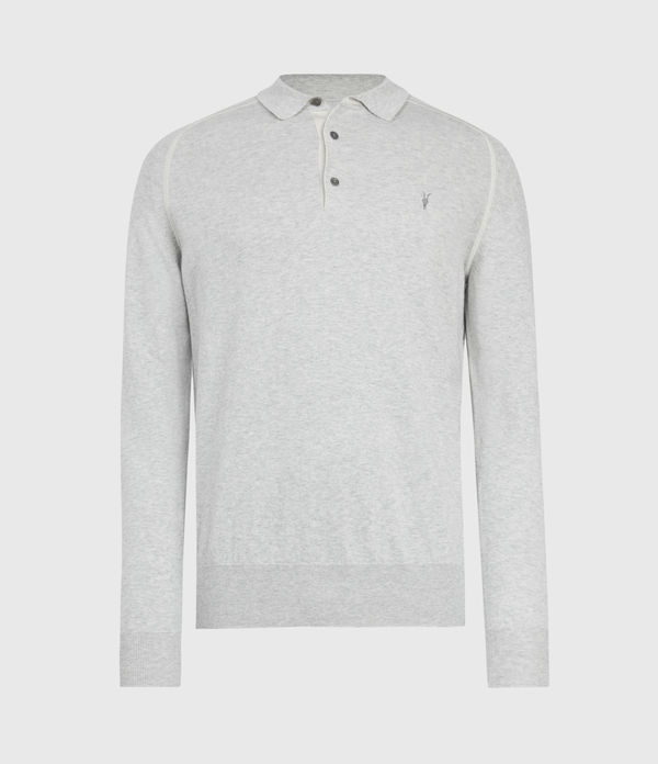 Harlen Long Sleeve Polohemd
