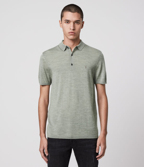 Mode Merino Short Sleeve Polo Shirt