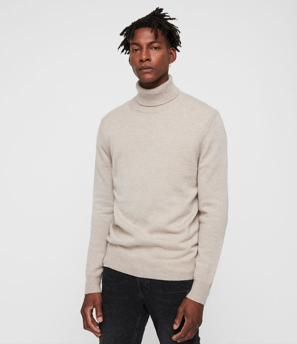 travon roll neck sweater
