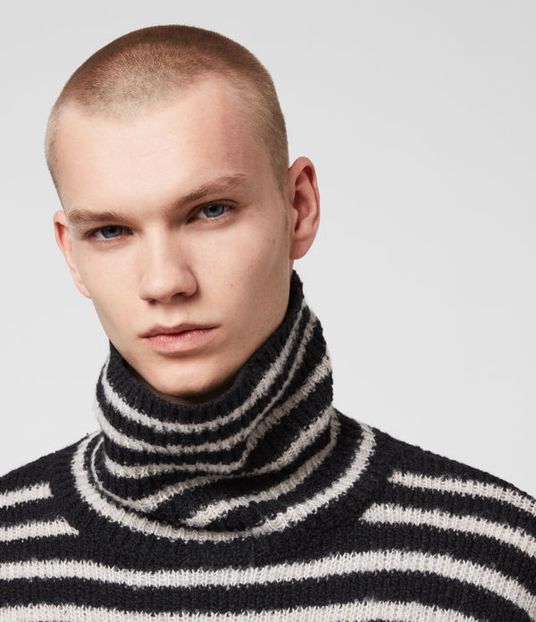 Alderney Funnel Neck Sweater