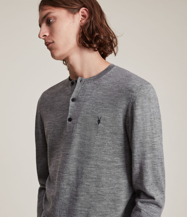Mode Merino Long Sleeve Henley