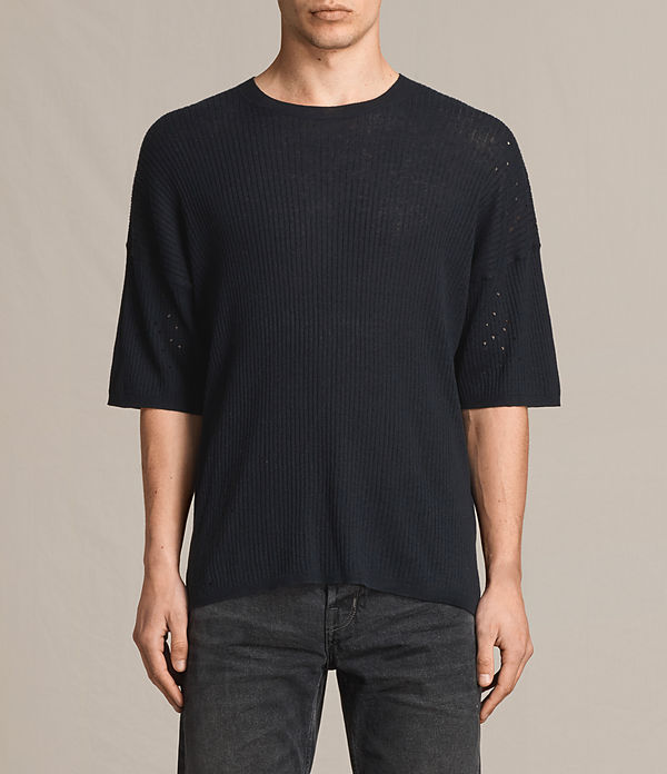Jace Short Sleeve Crew Jumper