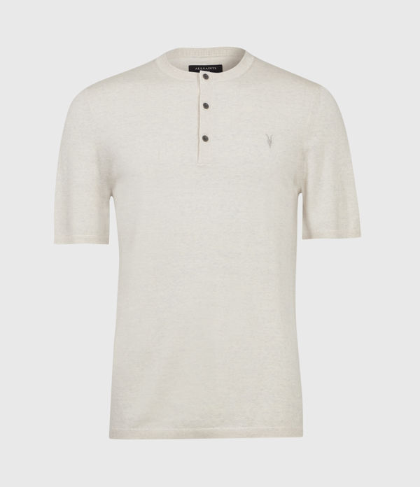 T-Shirt Mode Merino Henley