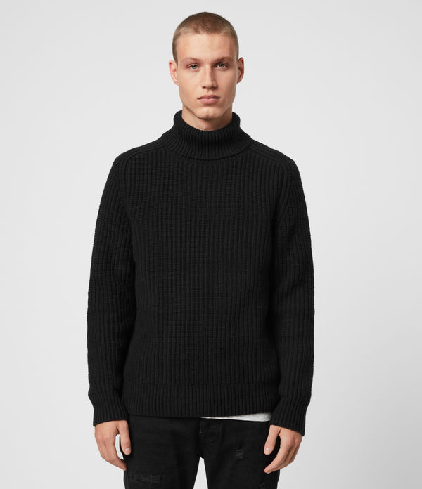 Galley Funnel Neck Jumper