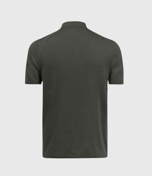 Fade Ramskull Linen Blend Polo Shirt