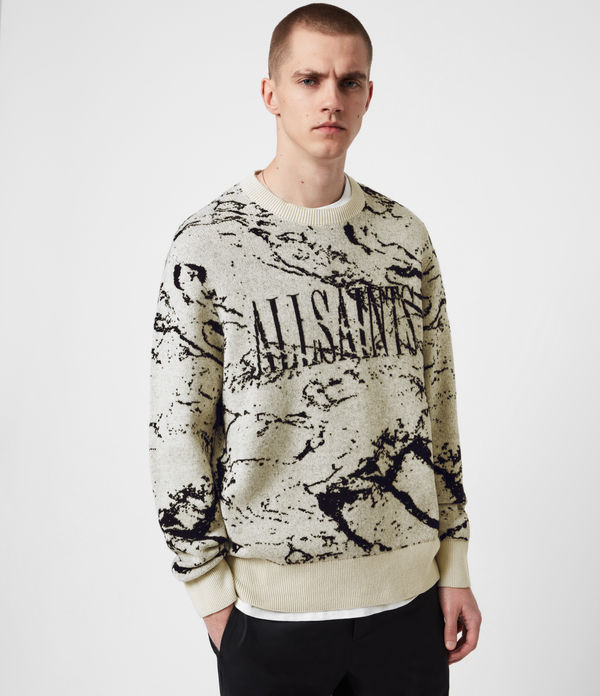 Marble Saints Crew Pullover