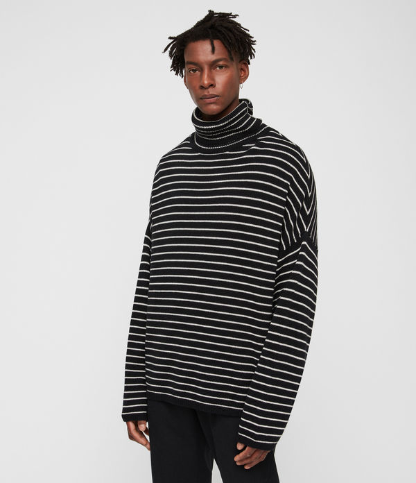 marty funnel neck jumper