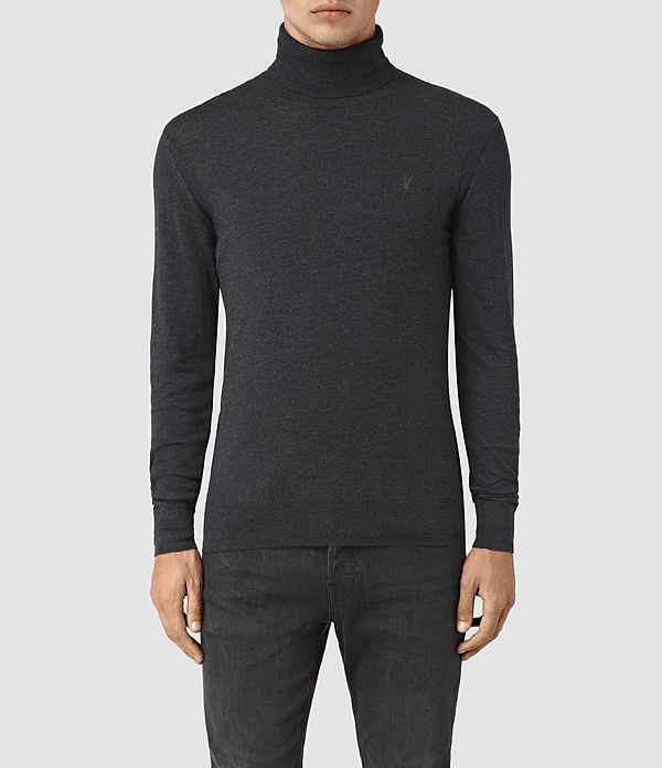 rue roll neck jumper