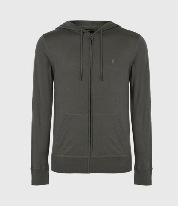 Mode Merino Zip Hood