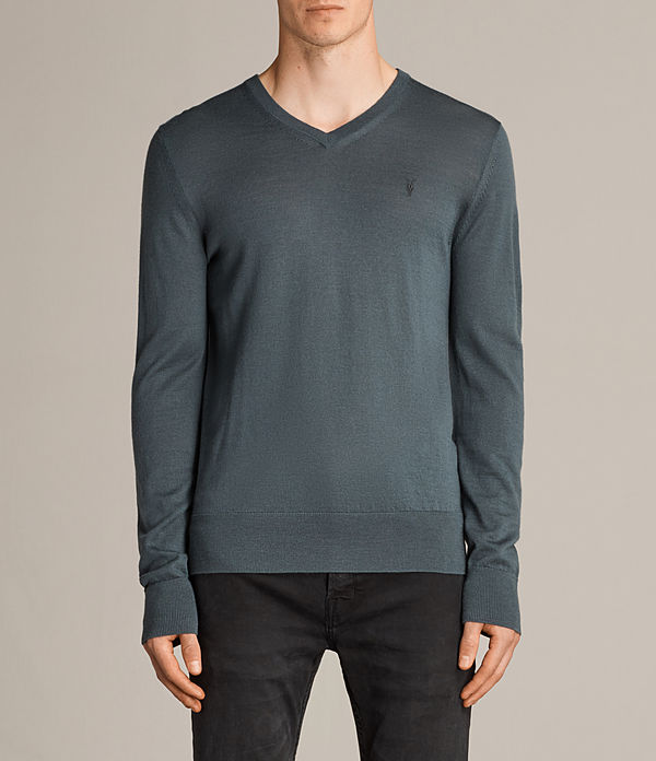 Mode Merino V Neck Jumper