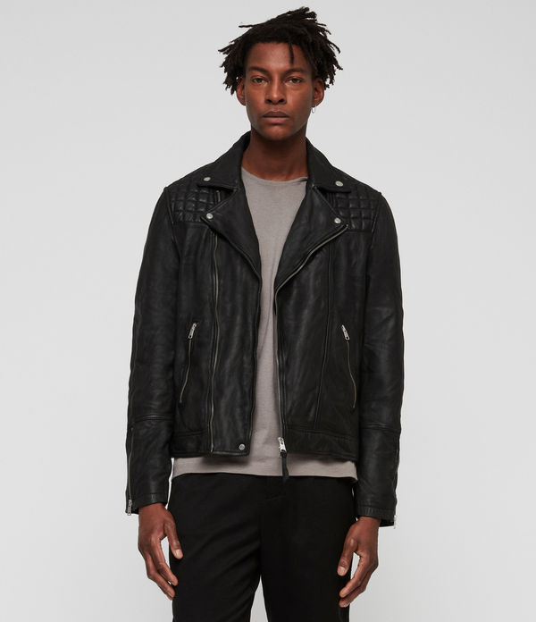Taro Leather Biker Jacket