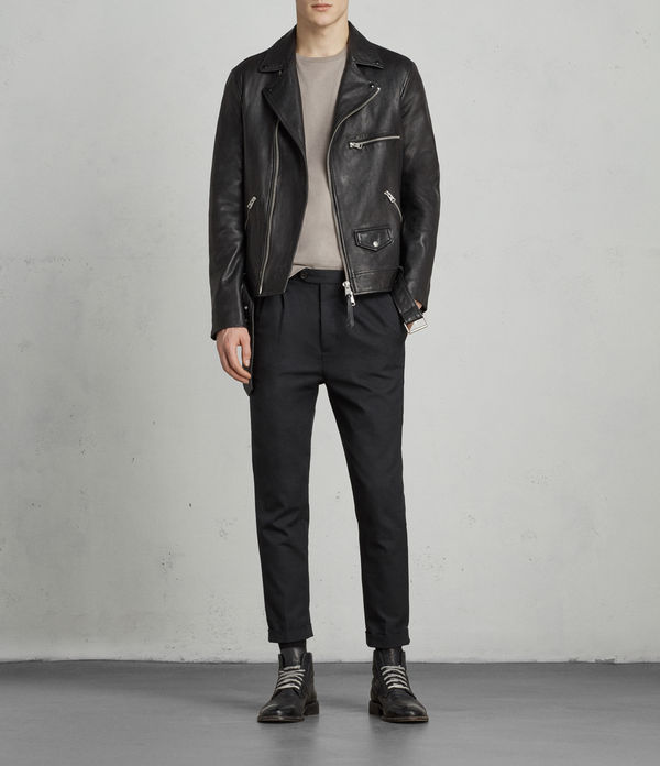 Kodey Leather Biker Jacket