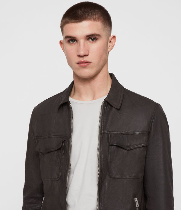 Garter Leather Jacket