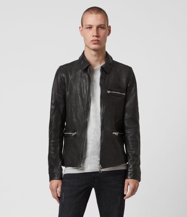 calix leather jacket