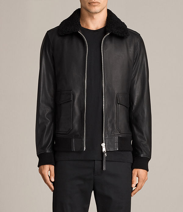 Oban Aviator Leather Jacket
