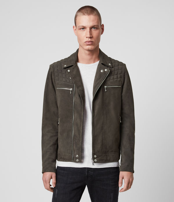 Bandon Leather Biker Jacket